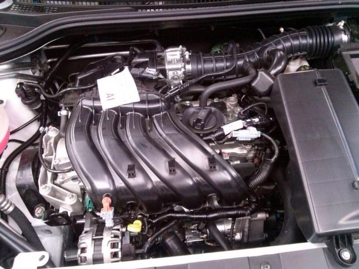 Характеристики двигателя Renault-Nissan H4M-HR16 DE