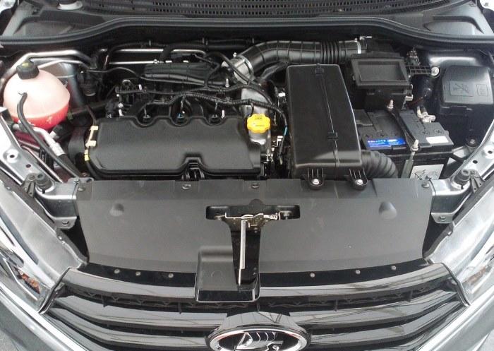 Технические характеристики двигателя 1, 6 Лада Веста