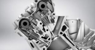 Двигатель Lada Xray в разрезе