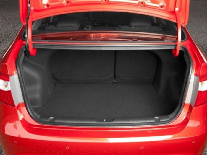 Объем багажника на Киа Рио