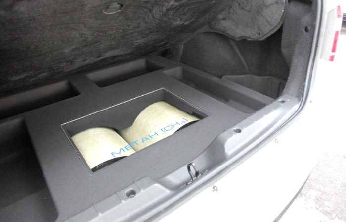 Багажник Лады Веста CNG