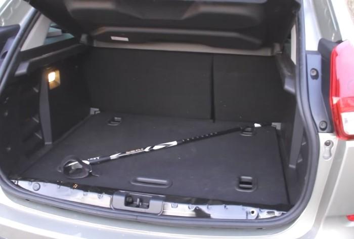 Размеры и объем багажника на Лада Икс Рей