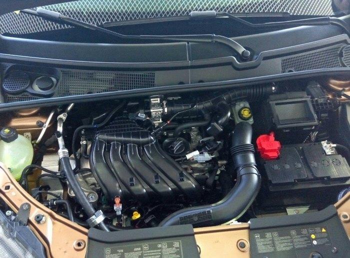 Технически характеристики Лада Икс Рей: двигатель