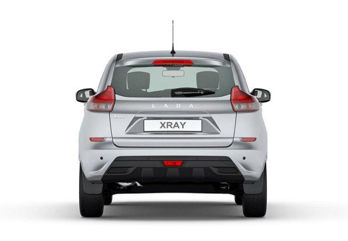 Технически особенности Lada Xray сзади