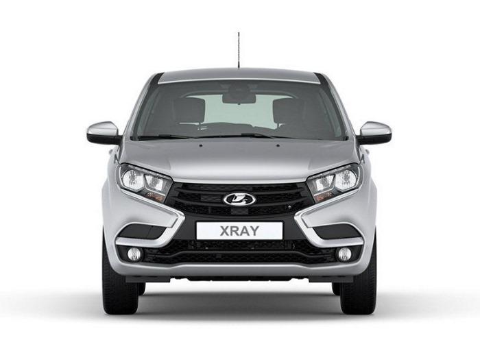 Технические особенности Lada Xray спереди