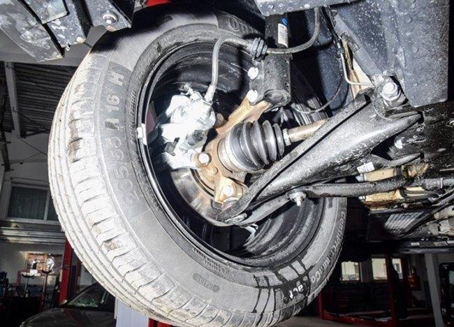Элементы передней подвески Lada Xray