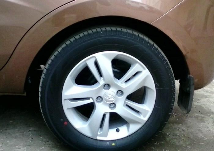 Размер колес на Лада Икс Рей