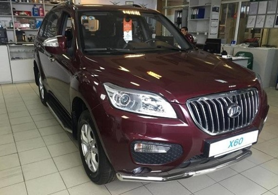 Lifan X60 red