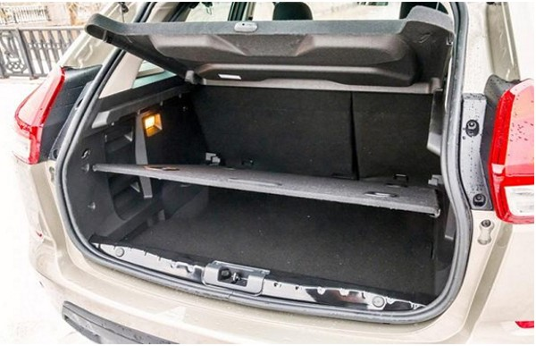 Объем багажника на Лада Икс Рей