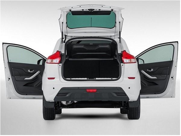 Размеры багажника на Lada Xray