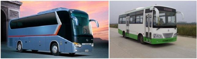 Китайские автобусы Yema