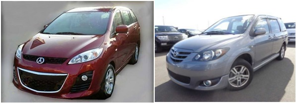 Китайская копия Mazda MPV