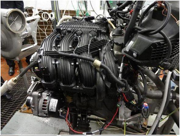 Двигатель ВАЗ-21179 испытания