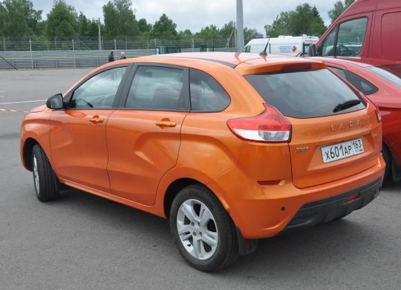 Лада Икс Рей оранжевый