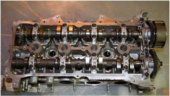 головка блока цилидров двигателя HR16DE