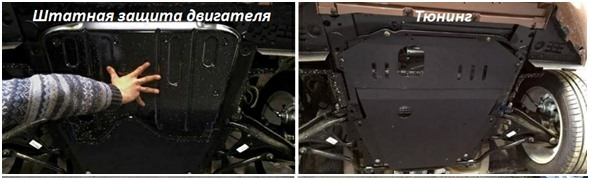Тюнинг защиты картера на Lada Xray