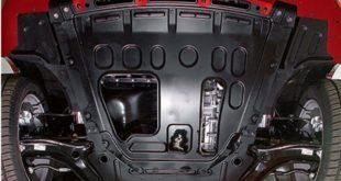 Защита картера двигателя на Лада Веста