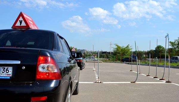 Вождение-на-автодроме